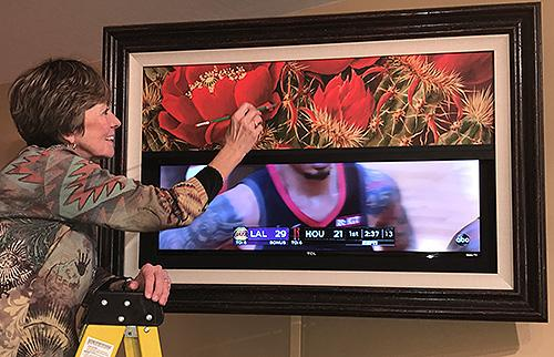 beth zink frame my tv giclee