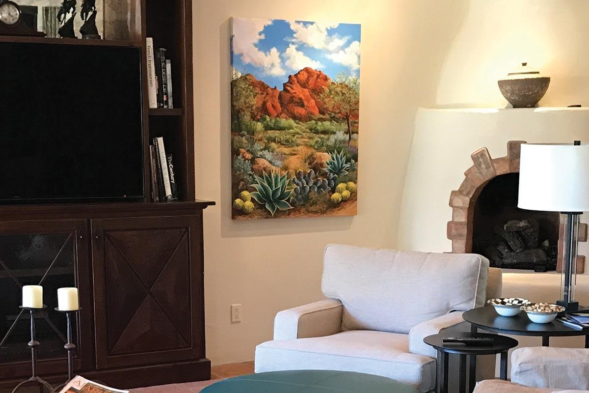 beth zink commission red rock sedona