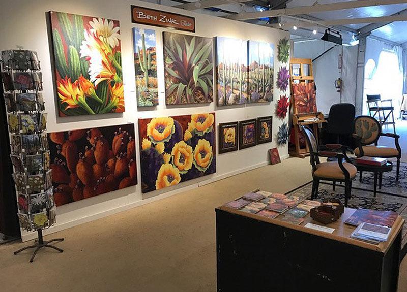 Beth Zink Studio Art Gallery