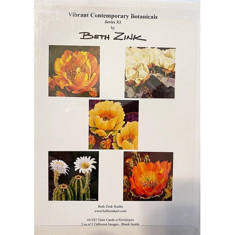 desert flower notecards and envelopes