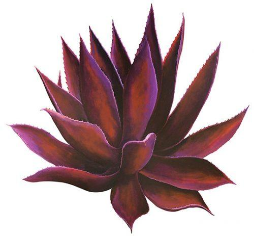 Beth Zink Outdoor Metal Art Sunset Agave